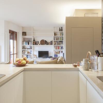 La cucina soggiorno