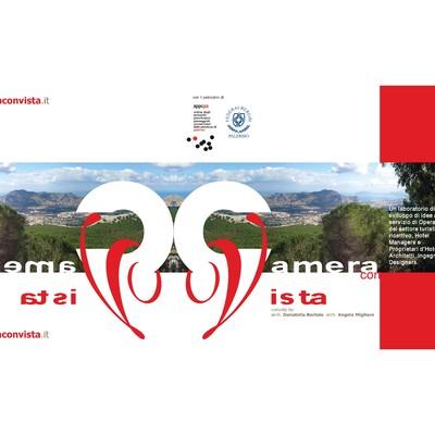 """Allestimento ed organizzazione dell' Evento """"CAMERA CON VISTA"""" patrocinato dall'Ordine degli Architetti di Palermo e da Federalberghi Palermo"""