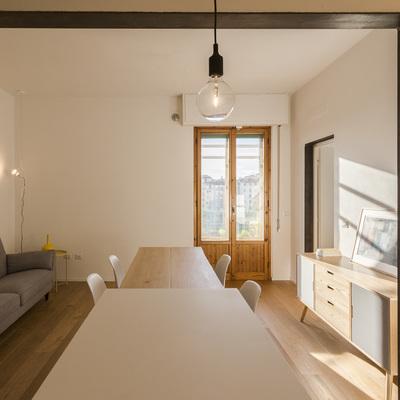 Piccolo attico a Firenze: 58 mq ben sfruttati