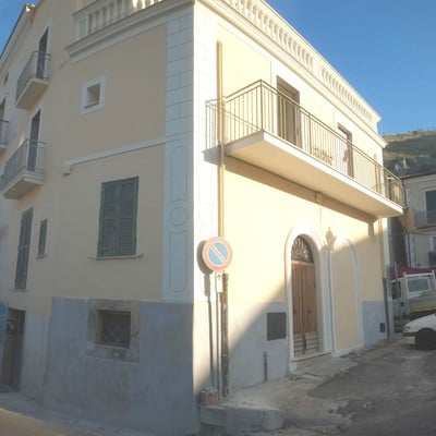 Ristrutturazione esterna ed interna immobile privato centro storico Roccasecca Frosinone