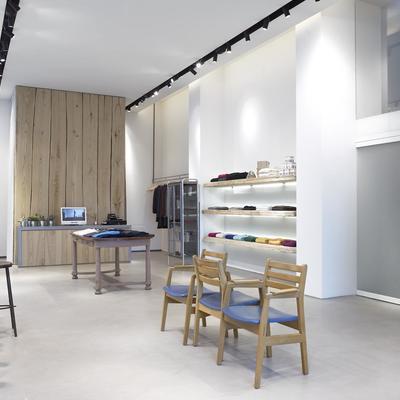 Lato camerini e boutique