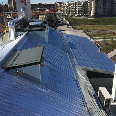 Ristruturazione tetto edificio