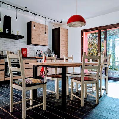 Come integrare il legno in cucina