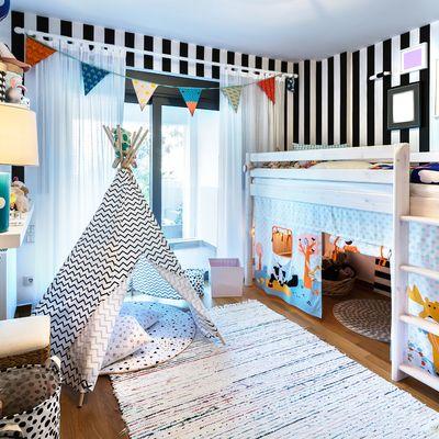 Letti a castello per le camerette dei bambini