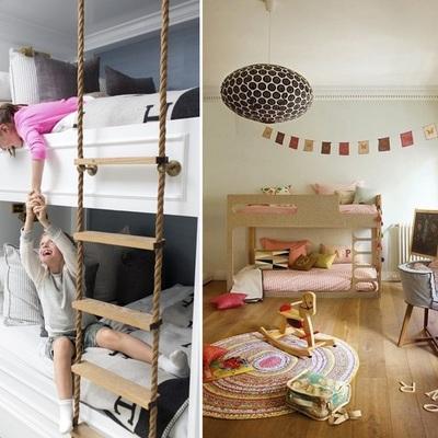 Poco spazio nella camera dei bambini? I letti a castello sono la soluzione