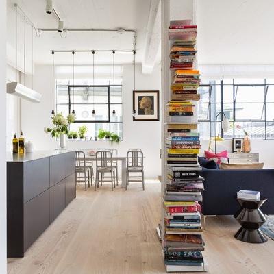Arredare con i libri: 10 idee bellissime