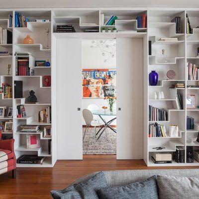 Libreria Moderna di Design su Misura