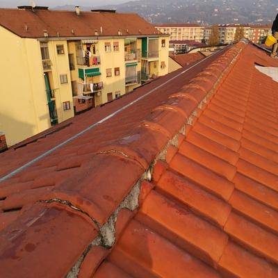Istallazione Linea Vita su tetto