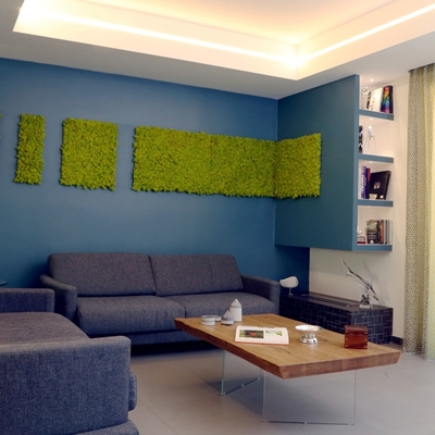 Interior design green