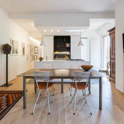 Un appartamento luminoso e accogliente