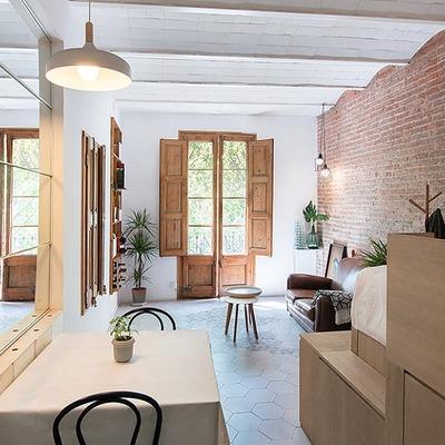 Idee e foto di saloni in stile rustico a brescia per for Foto di saloni