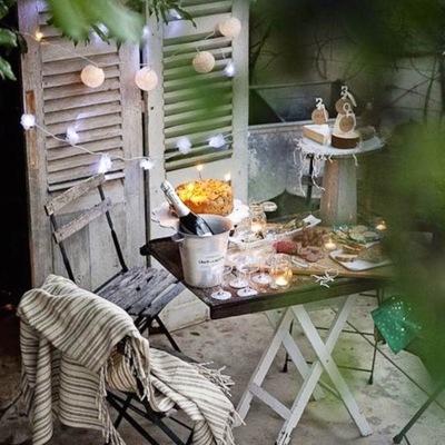 Idee e Foto di Terrazzo e Giardino In Stile Romantico Per Ispirarti ...