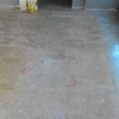 Consolidamento e lucidatura pavimento in marmo Trani