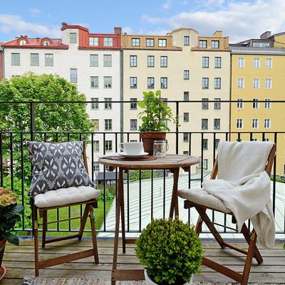 Tira fuori il meglio dal balcone di casa!