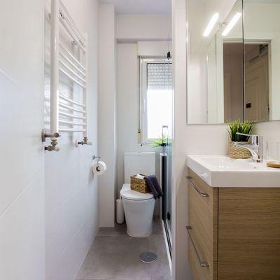 Come aumentare lo spazio del tuo bagno (illusione ottica)