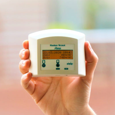 Misurazioni di gas RADON