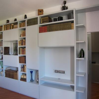Progetto mobile libreria a Milano