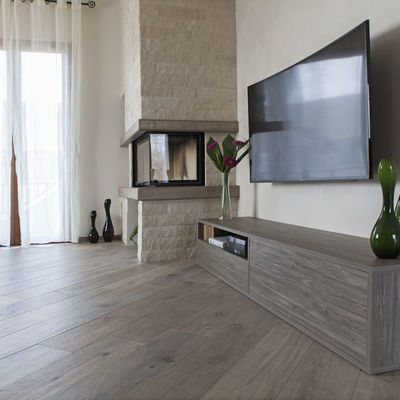 Mobile soggiorno minimal lineare fatto su misura