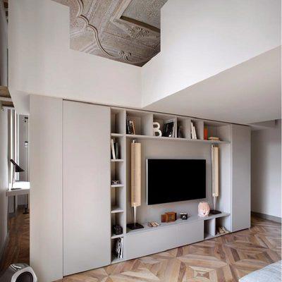 Un appartamento con volte straordinarie