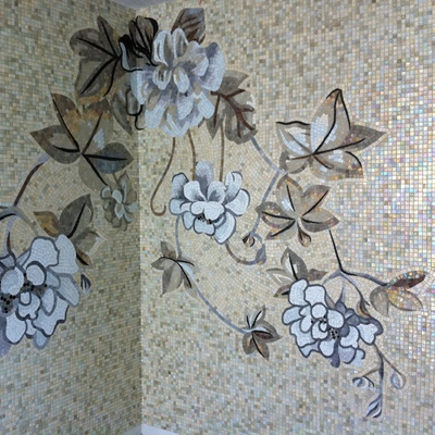 Mosaico pareti bagno