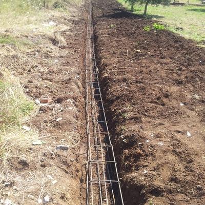 Progetto realizazione Muro di recinzione