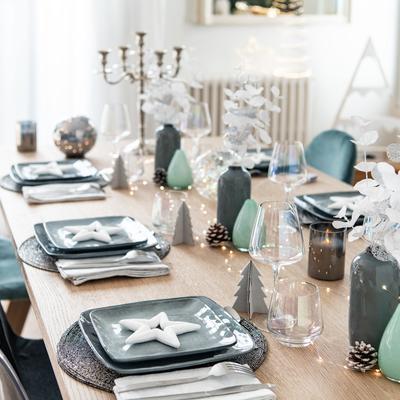 Lo spettacolo del Natale a tavola