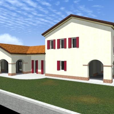 Progetto Nuova casa unifamiliare
