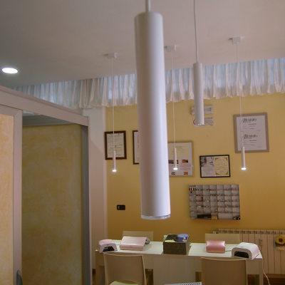 Nuova illuminazione centro estetico