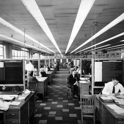 Forma e funzione nel design dell'ufficio dal dopoguerra ad oggi