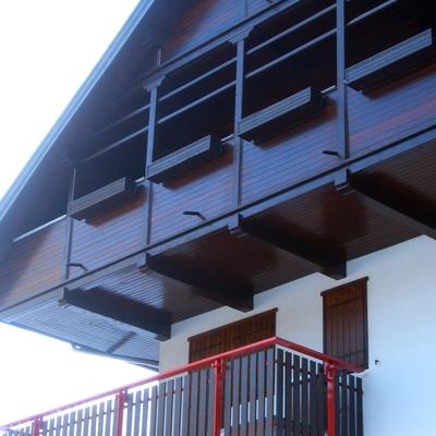 Progetto per Trattamento legni palazzina in montagna