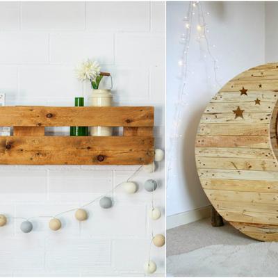 Creazioni originali con i pallet dedicate agli amanti del bricolage