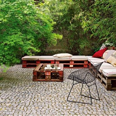 Sei un fan dei pallet? Guarda quante cose puoi fare per abbellire la tua terrazza!