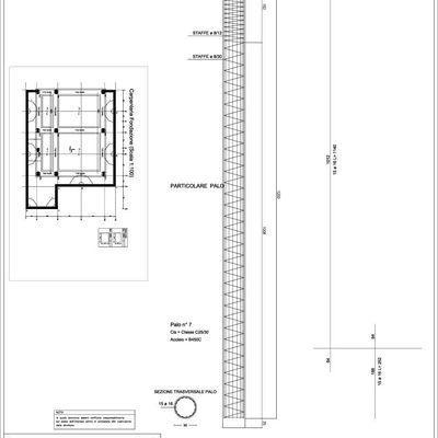 Progetto per realizzazione Villino in c.a.