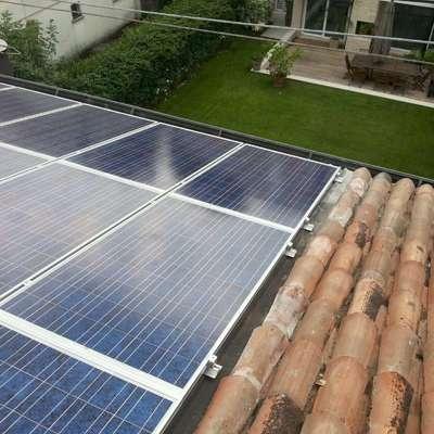 Impianto Fotovoltaico con ottimizzatori Solar Edge  con  scaldacqua a pompa di calore