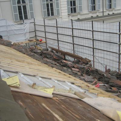 Isolamento e recupero del manto di copertura del Palazzo Chiablese