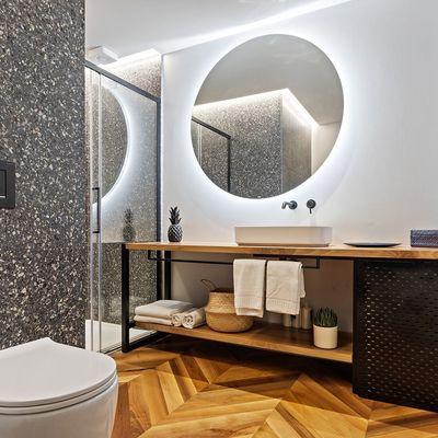 Restyling del bagno: 8 pavimenti per 8 stili diversi
