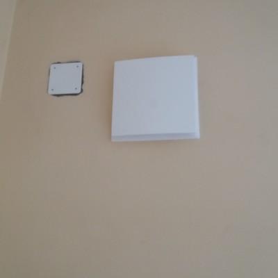 Isolamento termico con schiuma ISOFOR ed installazione VMC (Ventilazione meccanica controllata)
