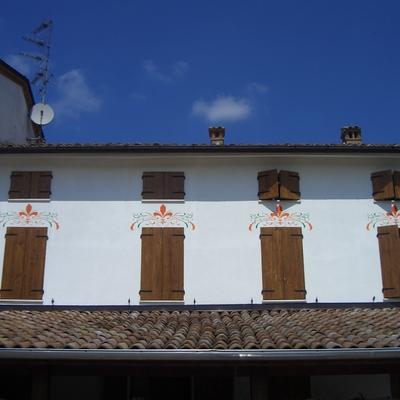 Decorazione in esterno per finestre