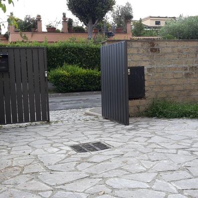 Ristrutturazione Patio esterno villa Roma