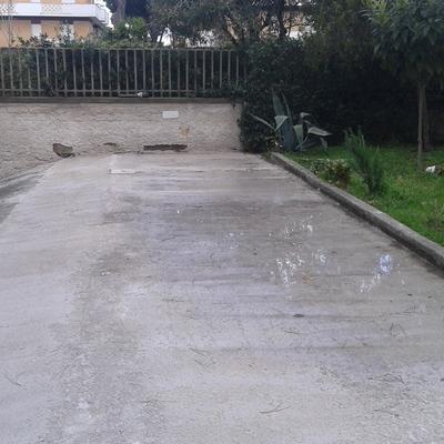 Pavimentazione in calcestruzzo armato