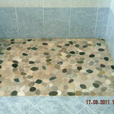 pavimentazione in mosaico dopo trattamento