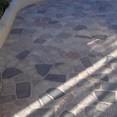 pavimentazione in pietra