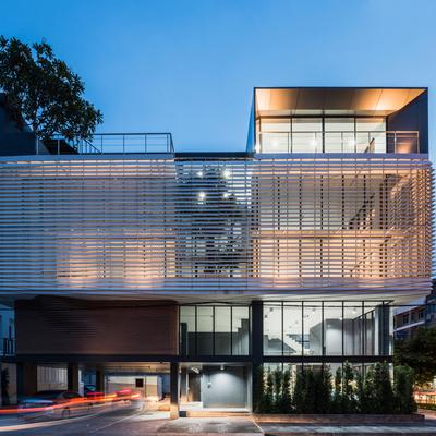 Idee e foto di palazzine moderne per ispirarti habitissimo for Palazzine moderne