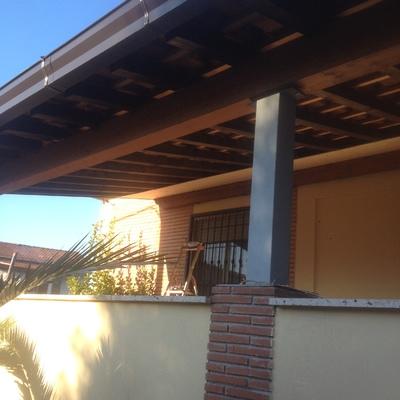 copertura portico