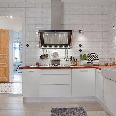 Idee e foto di stile nordico per ispirarti habitissimo for Piano lavoro cucina