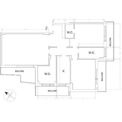 Progettazione appartamento c. 2014
