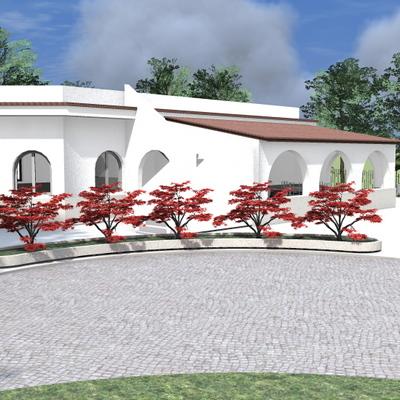 Progetto Villa con giardino