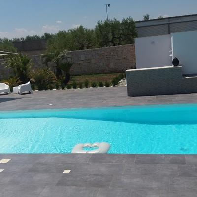 Dream pool bari - Piscina cemento armato ...