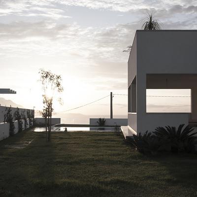 Una villa napoletana con una splendida vista sul mare