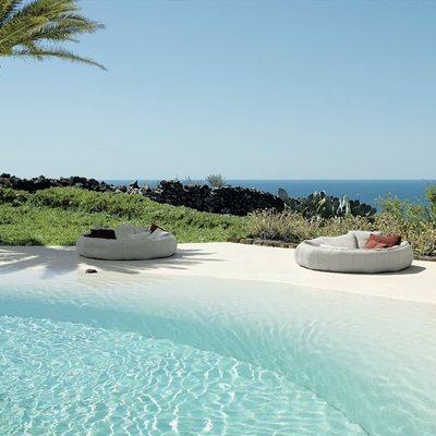 Piscine di sabbia, la soluzione ideale per una casa a due passi dal mare